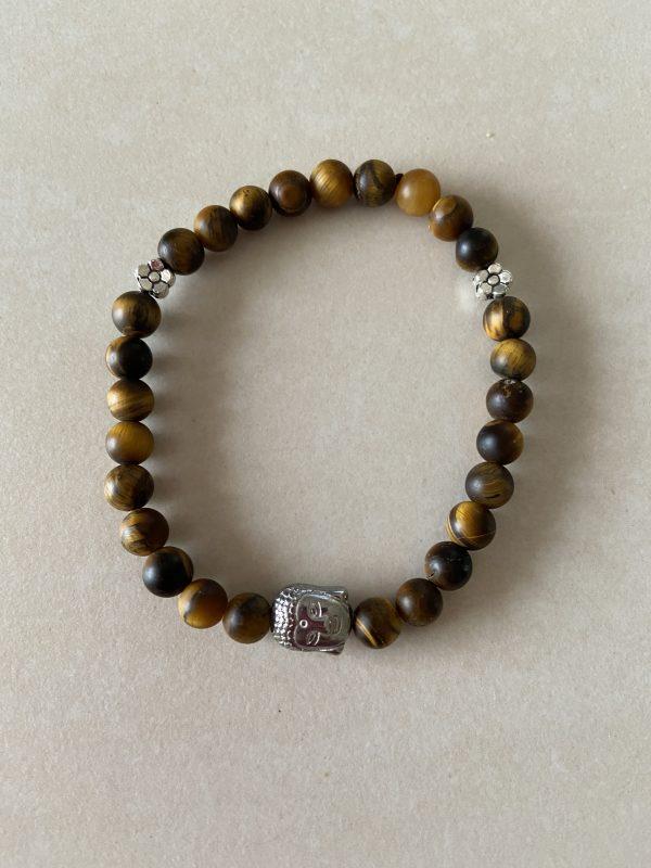 bracelet oeil tigre mat